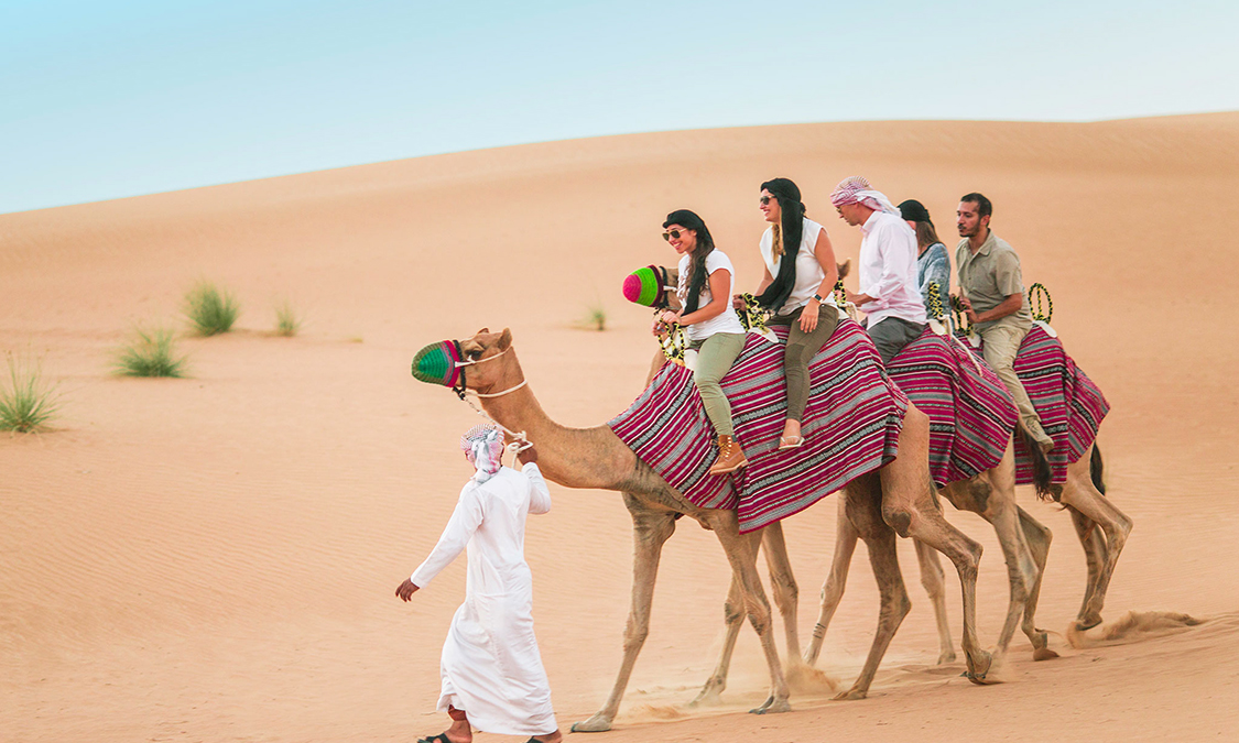 Desert Camel Safari & Sand Dunes in Rajasthan